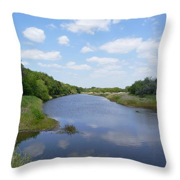 The Myakka River In Myakka River State Park 2 Throw Pillow