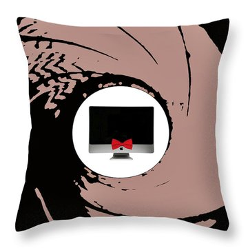 The Names Mac... Imac Throw Pillow