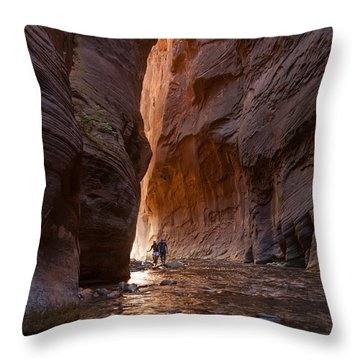 The Narrows 4 Throw Pillow