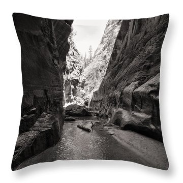 The Narrows IIi Throw Pillow