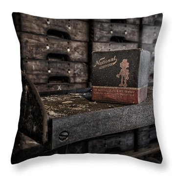 The National Screw Throw Pillow by Susan Candelario