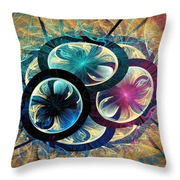 The Nest Throw Pillow by Anastasiya Malakhova