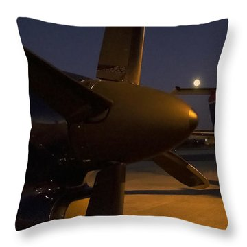 The Night II Throw Pillow