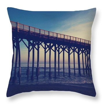 The Night Is Coming And We're Together Throw Pillow by Laurie Search