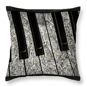 The Night The Music Died Throw Pillow by John Stephens