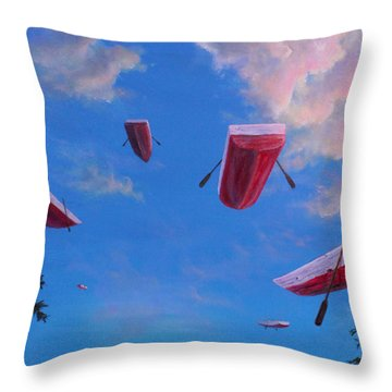 The Nine Throw Pillow