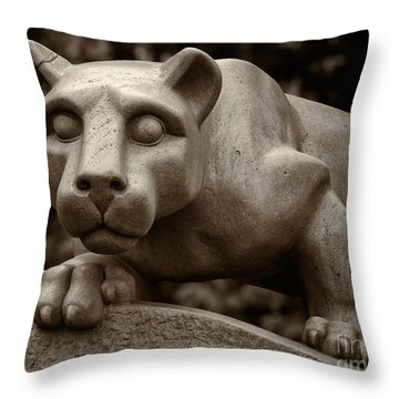 The Nittany Lion Shrine Throw Pillow
