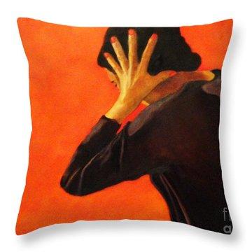 The Noise - Book Cover Design II Throw Pillow