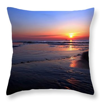 The North Sea Throw Pillow