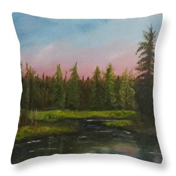 The Northeast Throw Pillow
