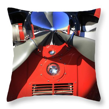 The Nose Throw Pillow by Karol Livote