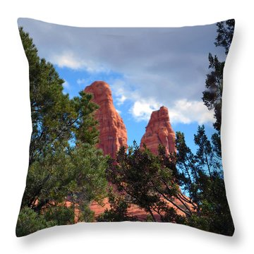 The Nuns Throw Pillow