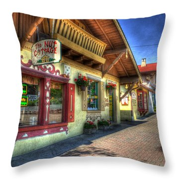 The Nut House Throw Pillow by Greg and Chrystal Mimbs