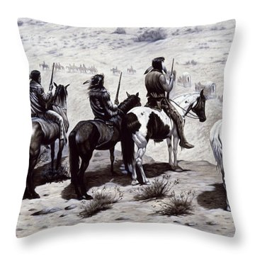 The Observers  Throw Pillow
