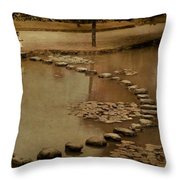 The Obstacle Is The Path Throw Pillow