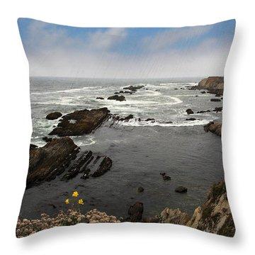 The Ocean's Call Throw Pillow