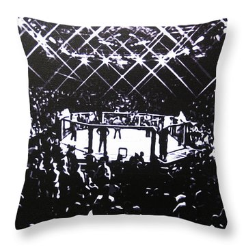 The Octagon Throw Pillow