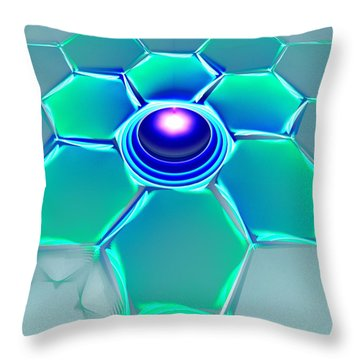 The Odd One Out Throw Pillow by Anastasiya Malakhova