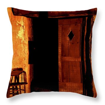 The Old Cantina Throw Pillow by Paul W Faust -  Impressions of Light