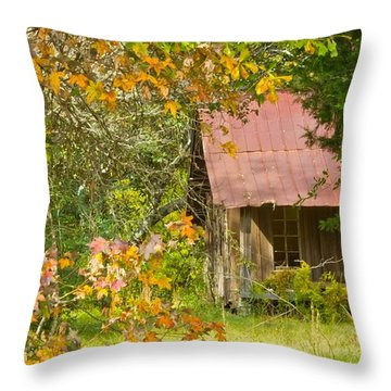The Old Homestead 3 Throw Pillow