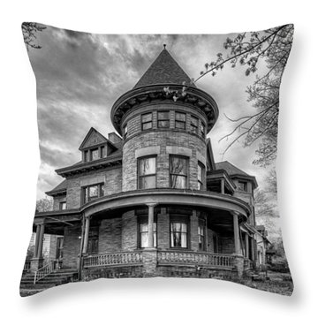 The Old House 2 Throw Pillow