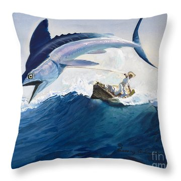 Fishes Throw Pillows