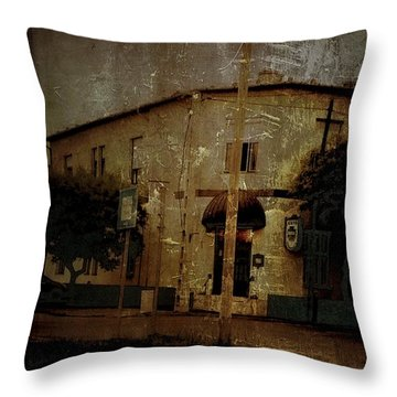 The Old Pharmacy Throw Pillow