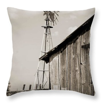 The Old Ranch Throw Pillow