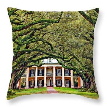 The Old South Throw Pillow by Steve Harrington
