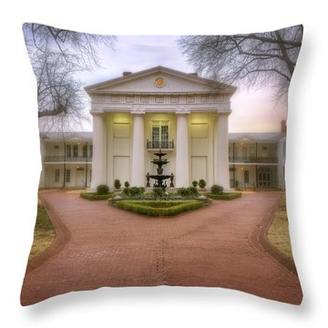 The Old State House - Little Rock - Arkansas Throw Pillow