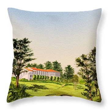 The Olympic Golf Club - 18th Hole Throw Pillow