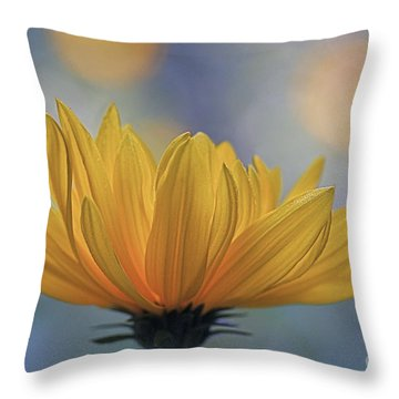 The One Who Dances With Light Throw Pillow by Maria Ismanah Schulze-Vorberg
