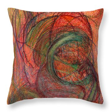 The One Who Overcame Throw Pillow