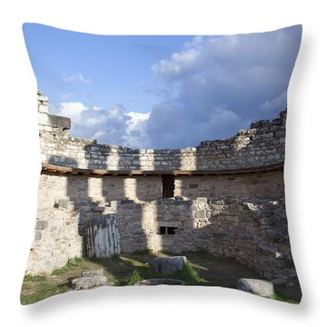 The Oracle's Well Throw Pillow