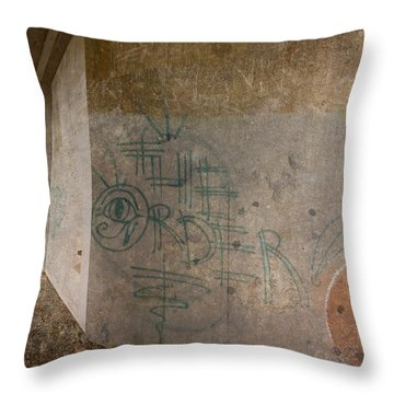 The Order Throw Pillow by Kandy Hurley