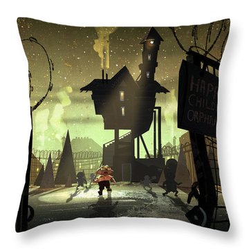 The Orphanage Throw Pillow