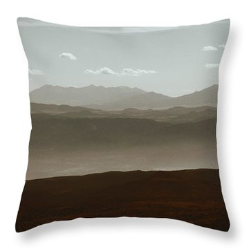 Throw Pillow featuring the photograph The Other Side by Dana DiPasquale