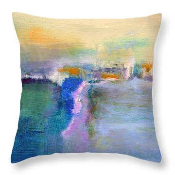 The Other Side Throw Pillow by Jim Whalen