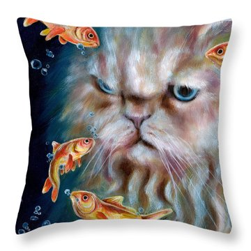 The Other Side Of Midnight Throw Pillow
