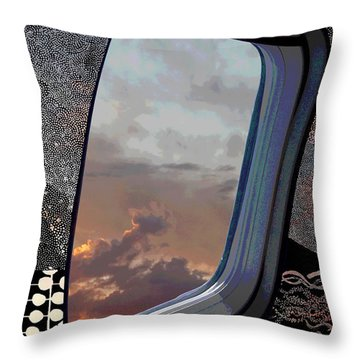 The Other Side Of Natural Throw Pillow