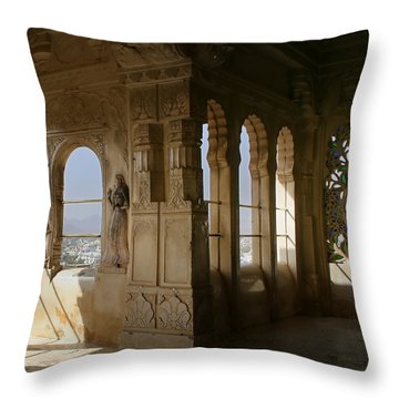 The Outlook For The Weekend Throw Pillow by A Rey