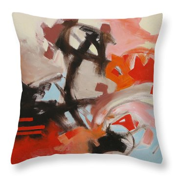 The Outsider Throw Pillow