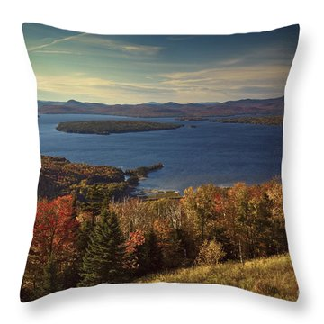 The Overlook Throw Pillow by Alana Ranney