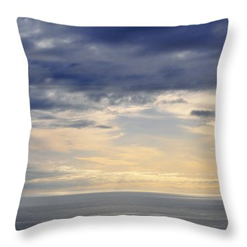 Throw Pillow featuring the photograph The Pacific Coast by Kyle Hanson