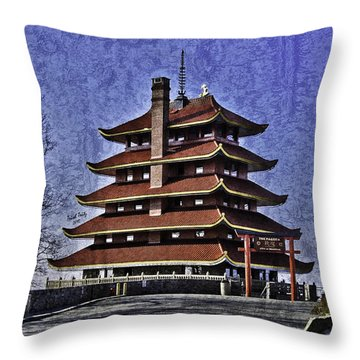 The Pagoda Throw Pillow