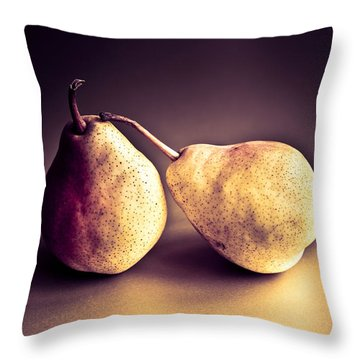 The Pair Throw Pillow by Jan Bickerton