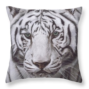 The Pale Hunter Throw Pillow