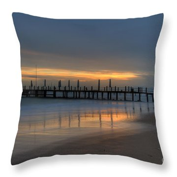 Throw Pillow featuring the photograph The Pale In Peace by Erhan OZBIYIK