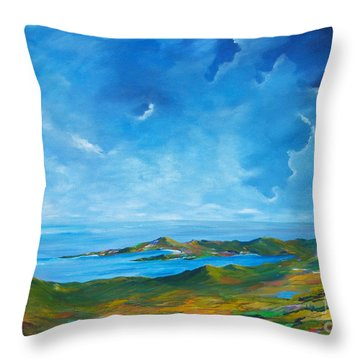 The Palette Of Ireland # 2 Throw Pillow