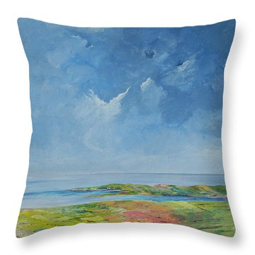 The Palette Of Ireland Throw Pillow